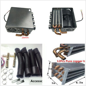 Ebay Motors Vehicle Electronics & Gps 12v Universal Underdash Compact Heater 12pcs Pure Copper Tube+speed Switch Grade