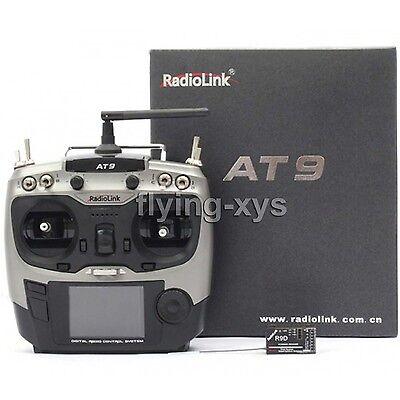 Radiolink 2.4G AT9 R9D Radio Control System 9CH Transmitter & Receiver TX Mode 2