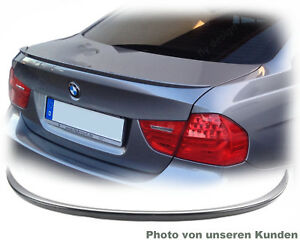 Spoiler-fuer-BMW-E90-Heckspoiler-Heck-lip-Fluegel-Hinten-Klappe-aus-ABS-kein-Gum