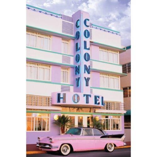 "91 x 61 MM 36 x 24/"" MIAMI SOUTH BEACH POSTER COLONY HOTEL ART DECO"