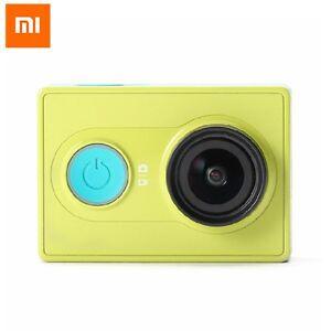 Original-Xiaomi-YI-Action-Camera-Green-Better-than-Gopro-FREE-Waterproof-Case