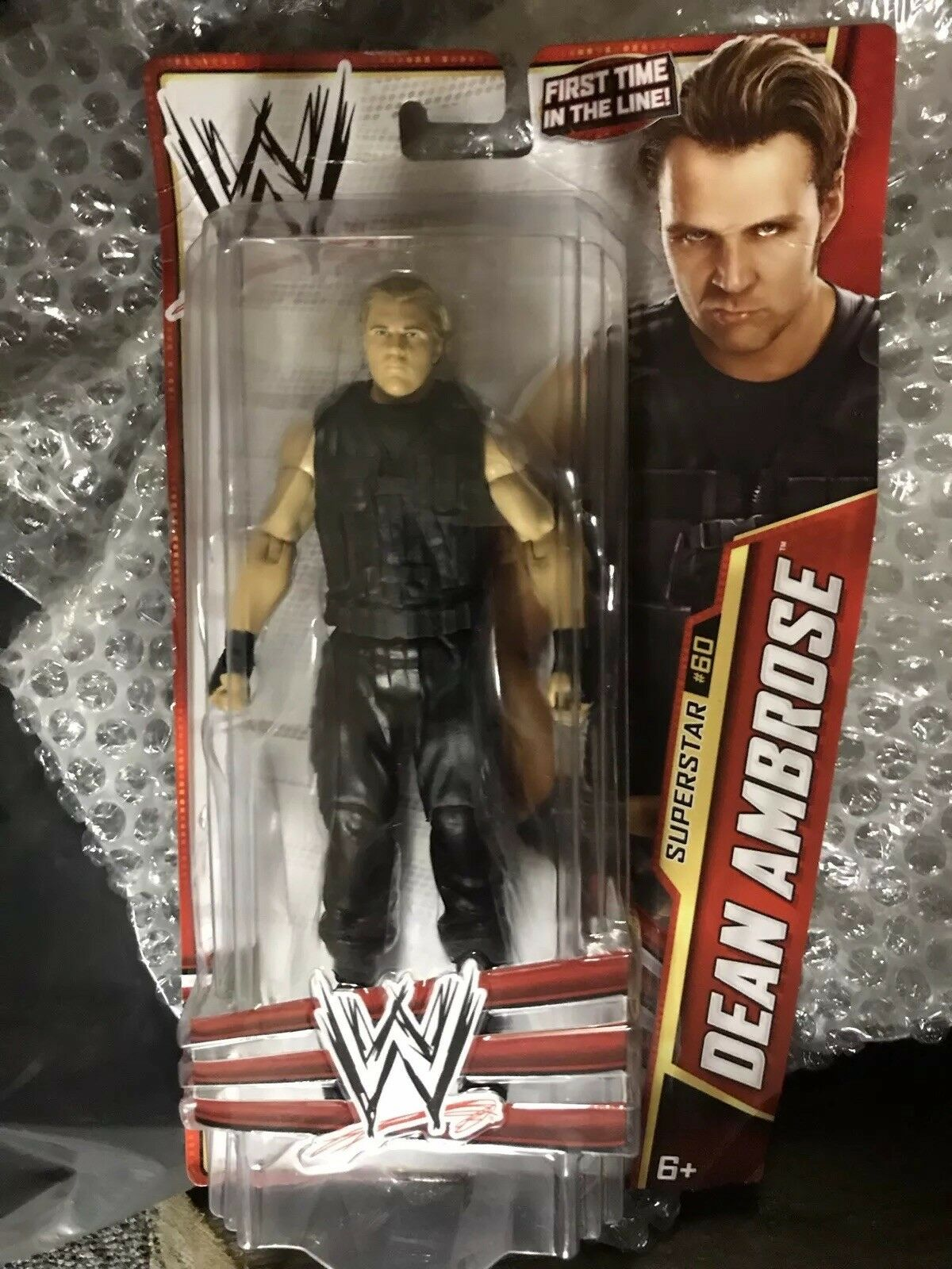 WWE Mattel Dean Ambpink First Time In Line Figure New