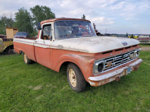1964 F100 FORD DELIVERY ACROSS CANADA