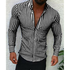 d446c60345a Fashion Men s Luxury Stylish Slim Fit Shirt Long Sleeve Casual Dress Shirts  Tops