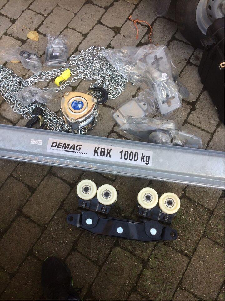 Ubrugt Kran, Demag 1000 kg