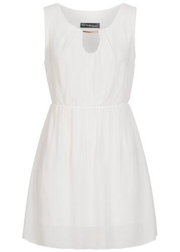 50/% off b17048130 Donna Violet abito corto con tubi Ornament all/'elastico Bianco