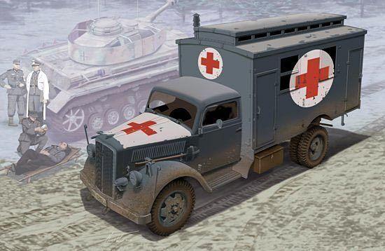 Dragon 1  3 5 6790  Alemán Ambulancia Camión