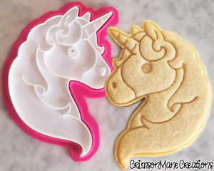 Unicorn-Emoji-Cookie-Cutter-Biscuit-Stamp-DIY-Baking-Ceramics-and-Pottery