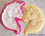 Unicorn-Emoji-Cookie-Cutter-Biscuit-Stamp-DIY-Baking-Ceramics-and-Pottery thumbnail 1