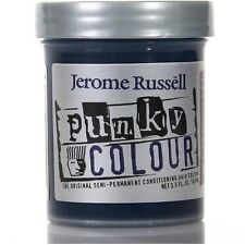 Jerome Russell Punky Colour Conditioning Hair Color, Midnight Blue 3.50 oz 2pk