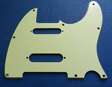 Fender Deluxe Nashville Tele PICKGUARD Telecaster Guitar Parts Mint Green 3 Ply