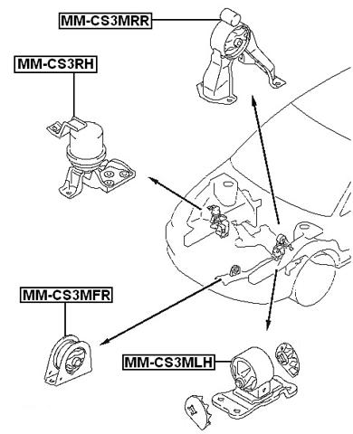 64 gto motor mounts wiring diagram database Wire Diagram for 67 Pontiac left engine mount hydro mt febest mm cs3mlh mitsubishi mr491557 64 gto interior 64 gto motor mounts