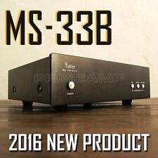 YAQIN MS-33B MC/MM 12AX7 12AU7 Vacuum Tube RIAA Pre-Amplifier for Turntable 23B