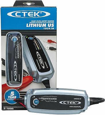 "CTEK 56-926 Lithium US Battery Charger 12V /""Shorai/"""