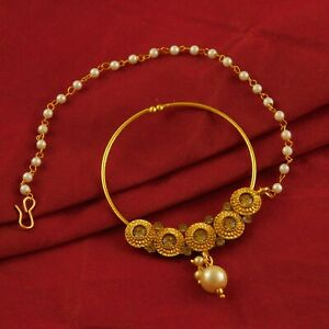 Indian-Goldplated-Nose-Rings-Bridal-Traditional-Wedding-Costume-Nath-Jewelry