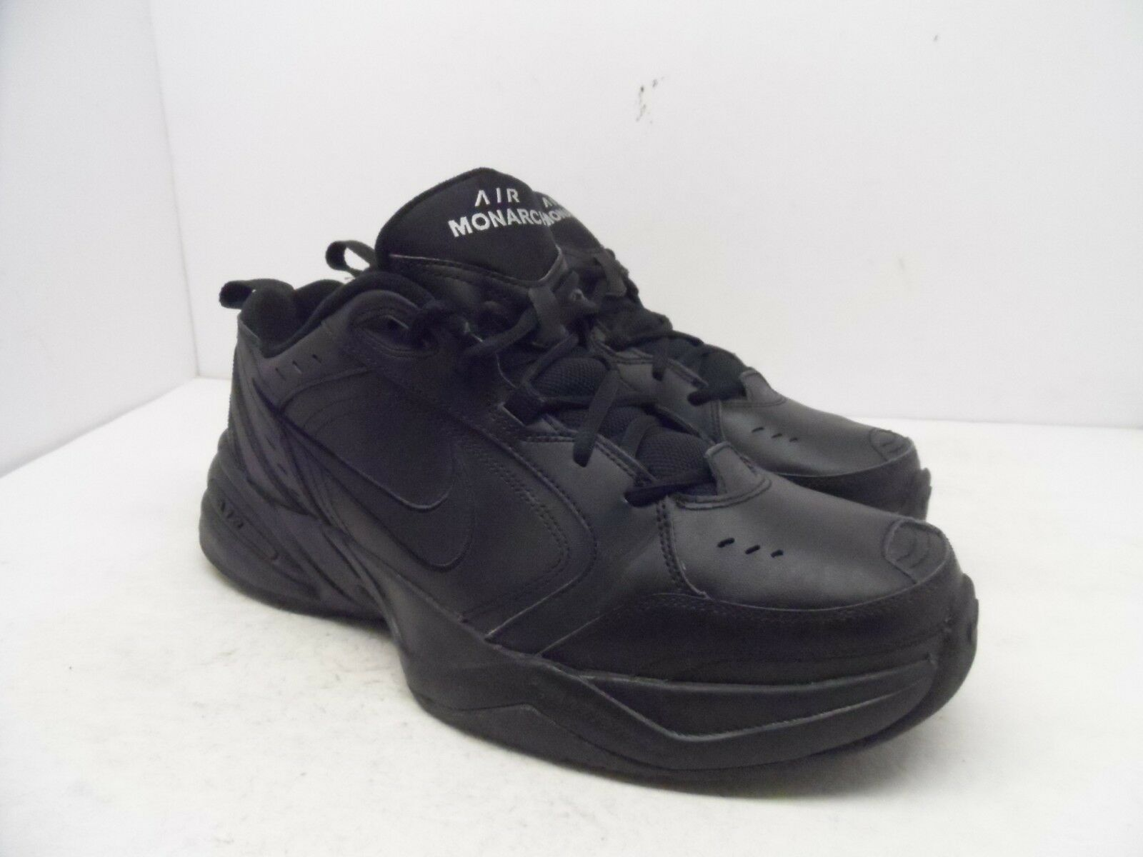 Nike Men's Air Monarch IV Athletic Training shoes Black Black Size 11.5M