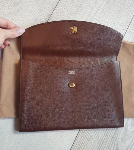 Hermès Pochette Dust Hermes Pouch État Super Rio Modèle Bag ggwBqrOd