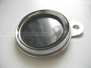 Polished-Stainless-Classic-Style-Bike-Tax-Disc-Licence-Holder