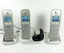 DECT 6.0 Cordless Phone System KX-TGD220M Panasonic KX-TGD220N Metallic Grey