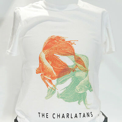 THE CHARLATANS INDIE ROCK BRITPOP T-SHIRT stone roses happy mondays S-3XL