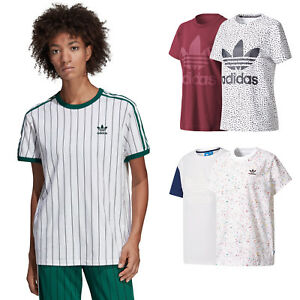 1ddc2f82 Adidas Originals Big Trefoil Tee Women ´S T-Shirt Boyfriend Top ...