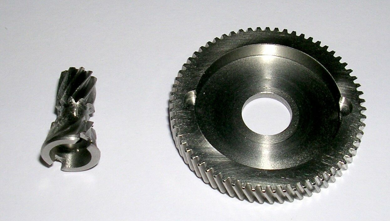 MANFISH STAINLESS STEEL GEARS 6.3 1 ULTRA HIGH SPEED  FITS AKIOS CSM CTM 555 656  free shipping