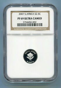 South-Africa-PF69-2007-2-5-cent-Polar-Year-NGC-Silver-Coin-Proof-69-Tickey