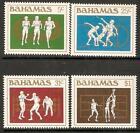 BAHAMAS SG679/82 1984 OLYMPIC GAMES  MNH