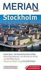 Merian live!, Stockholm von Charlotta Rüegger   Buch   Zustand sehr gut