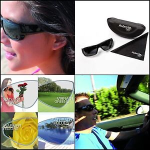 191f28271d26 Polaryte HD Vision Polarized Sunglasses For Men Women Driving Sports ...