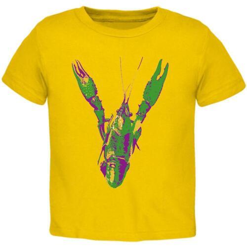 Mardi Gras Crawfish Toddler T Shirt
