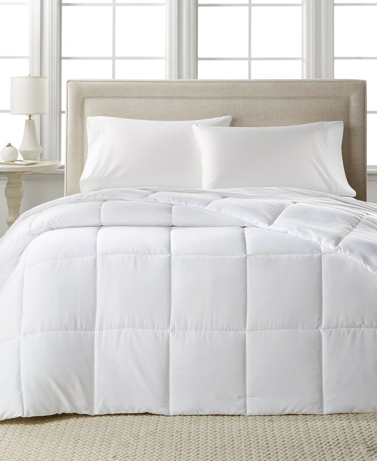 Home Design Down Alternative Comforter Full Queen