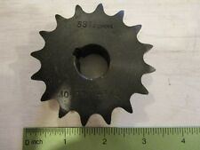 """1/"""" Finished Bore 40BS16H X 1  TTN Sprocket 16 Teeth 1//2/"""" Pitch"""