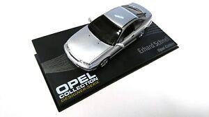 Opel Calibra Coupe plata 1993-1997 nr 136 1//43 Ixo modelo coche con o sin en