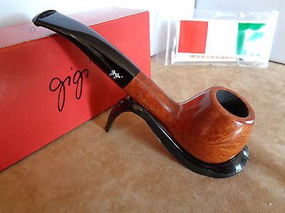 PIPE PIPA GIGI  CLASSICA HAND MADE ITALY 23Q37 + OMAGGIO GIZEH