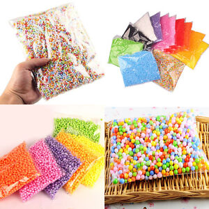 Newly-Assorted-Colors-Polystyrene-Styrofoam-Filler-Foam-Mini-Beads-Balls-Crafts