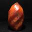 Natural-carnelian-flame-Shape-Quartz-Crystal-agate-torch-specimen-Healing-180g thumbnail 7