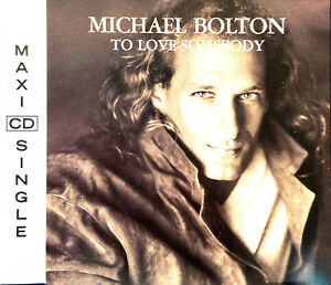 Michael-Bolton-Maxi-CD-To-Love-Somebody-Europe-M-EX