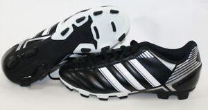 47a76e43aed6 NEW Youth Boys Kids ADIDAS Puntero VIII TRX FG G65135 Black Soccer ...