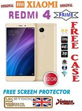 "NEW 32GB 5.0"" XIAOMI REDMI 4 PRIME SNAPDRAGON 625 DUALSIM 3GB RAM UNLOCKED GOLD"
