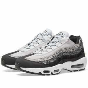 Details about Womens Nike Air Max 95 PRM Womens Sz 11 Mens Sz 9.5 Black  Wolf Grey 807443-016