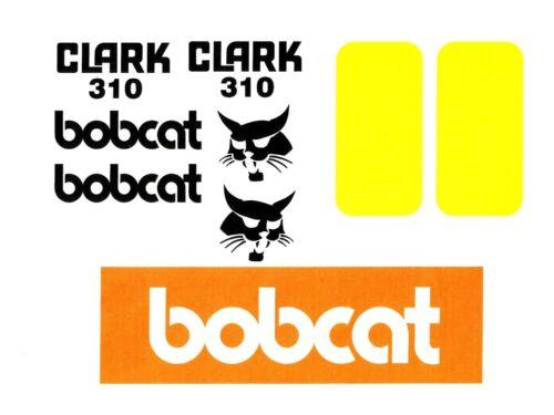 Bobcat Stickers Clark 310 Decals