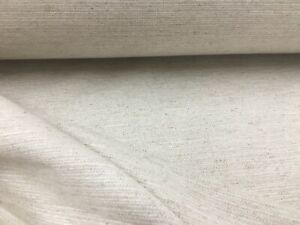 """French Soft  Beige Cotton 280cm//108/"""" Wide Curtain//upholstery Fabric"""