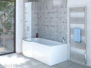 Badewanne mit duschzone komplett  Badewanne SKALI 167,5x85cm mit Duschzone,auch mit Duschaufsatz + ...