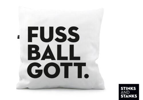 Kissen Fussball Kissenhülle Fussballgott