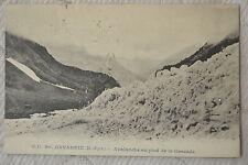 "CPA "" GAVARNIE - Avalanche au pied de la Cascade"