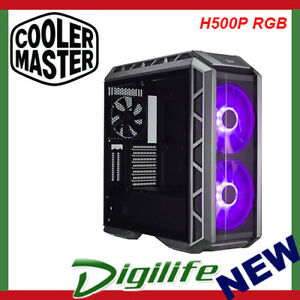 Cooler-Master-MasterCase-H500P-RGB-Black-ATX-Case-Tempered-Glass-Panel-Mid-Tower