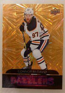 Connor McDavid Dazzlers - GOLD SSP - 1:260 Packs Super Rare - Possible  PSA 10