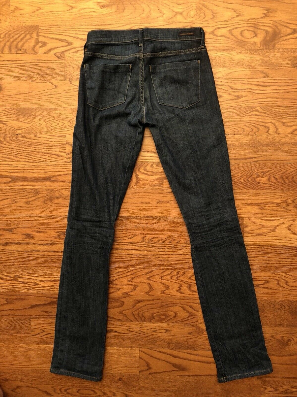 Womens Citizens Of Humanity Jeans ELSON Medium Rise Straight Leg Size 26