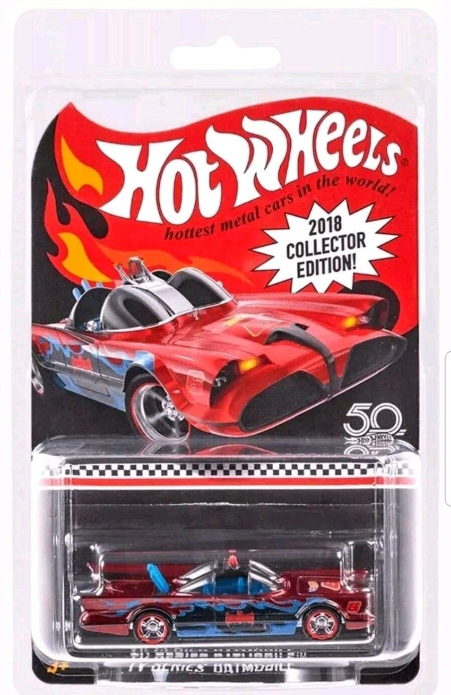 encuentra tu favorito aquí Hot Wheels 2018 correo en series series series de TV Batimóvil Kmart Batman Nuevo   Muy bonito  barato